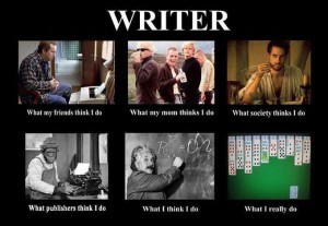 What I Do Writer Meme