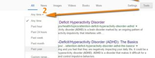 add adhd search research data news